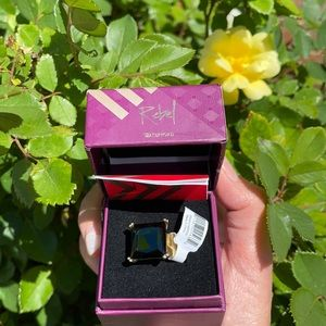 NWT WATERFORD RING LULU RING SIZE 7.5 LARGE